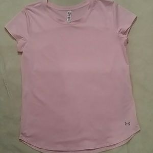 Under Armour pink tshirt